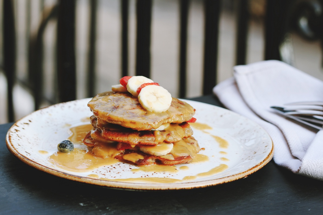 receta pancakes de avena