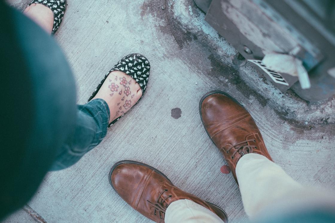 que zapatos usar cuando no estas corriendo